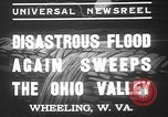 Image of civilians Wheeling Ohio USA, 1937, second 10 stock footage video 65675052023