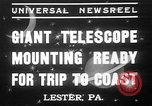 Image of Albert Einstein Lester Pennsylvania USA, 1937, second 1 stock footage video 65675052025