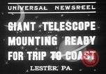 Image of Albert Einstein Lester Pennsylvania USA, 1937, second 8 stock footage video 65675052025