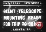 Image of Albert Einstein Lester Pennsylvania USA, 1937, second 9 stock footage video 65675052025