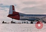 Image of aircraft C 124 Antarctica, 1956, second 4 stock footage video 65675052038