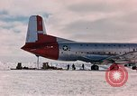 Image of aircraft C 124 Antarctica, 1956, second 8 stock footage video 65675052038