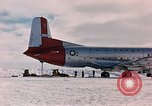 Image of aircraft C 124 Antarctica, 1956, second 10 stock footage video 65675052038