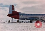 Image of aircraft C 124 Antarctica, 1956, second 12 stock footage video 65675052038