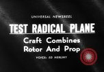 Image of rotary wing aircraft United States USA, 1964, second 5 stock footage video 65675052052