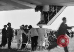 Image of LZ 129 Hindenburg airship Lakehurst New Jersey USA, 1936, second 5 stock footage video 65675052070