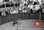Image of cockfighting Guaynabo Puerto Rico, 1935, second 11 stock footage video 65675052095