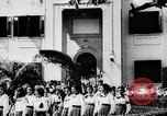 Image of school girls San Juan Puerto Rico, 1935, second 2 stock footage video 65675052098