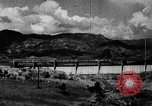 Image of roadway and dam San Juan Puerto Rico, 1935, second 3 stock footage video 65675052103