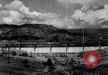 Image of roadway and dam San Juan Puerto Rico, 1935, second 5 stock footage video 65675052103