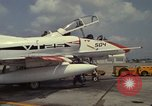 Image of aircraft TA-4J Beeville Texas Naval Air Station Chase Field USA, 1982, second 4 stock footage video 65675052119