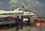 Image of aircraft TA-4J Beeville Texas Naval Air Station Chase Field USA, 1982, second 8 stock footage video 65675052119