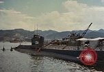 Image of American sailors examine Japanese submarines Yokosuka Japan Yokosuka Harbor, 1945, second 6 stock footage video 65675052130
