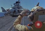 Image of Aircraft Carrier USS Ranger Indian Ocean, 1982, second 11 stock footage video 65675052139