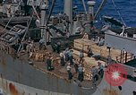 Image of ammunition ship Pacific Ocean, 1945, second 3 stock footage video 65675052155