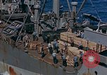 Image of ammunition ship Pacific Ocean, 1945, second 4 stock footage video 65675052155