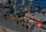 Image of ammunition ship Pacific Ocean, 1945, second 5 stock footage video 65675052155
