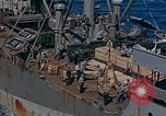 Image of ammunition ship Pacific Ocean, 1945, second 7 stock footage video 65675052155