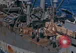 Image of ammunition ship Pacific Ocean, 1945, second 9 stock footage video 65675052155