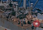 Image of ammunition ship Pacific Ocean, 1945, second 10 stock footage video 65675052155