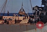 Image of ammunition ship Pacific Ocean, 1945, second 8 stock footage video 65675052157
