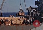 Image of ammunition ship Pacific Ocean, 1945, second 11 stock footage video 65675052157