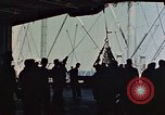 Image of hangar deck of carrier Pacific Ocean, 1945, second 6 stock footage video 65675052158