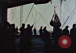 Image of hangar deck of carrier Pacific Ocean, 1945, second 7 stock footage video 65675052158