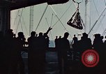 Image of hangar deck of carrier Pacific Ocean, 1945, second 9 stock footage video 65675052158
