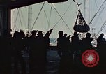 Image of hangar deck of carrier Pacific Ocean, 1945, second 11 stock footage video 65675052158