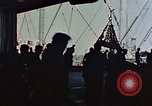 Image of hangar deck of carrier Pacific Ocean, 1945, second 12 stock footage video 65675052158