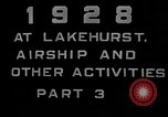 Image of LZ-127 Graf Zeppelin airship Lakehurst New Jersey USA, 1928, second 5 stock footage video 65675052188