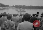 Image of troops walking on water Washington DC USA, 1962, second 4 stock footage video 65675052198