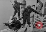 Image of troops walking on water Washington DC USA, 1962, second 7 stock footage video 65675052198