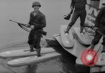 Image of troops walking on water Washington DC USA, 1962, second 10 stock footage video 65675052198