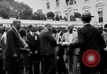 Image of Texas delegation visits President Hoover Washington DC USA, 1929, second 2 stock footage video 65675052213