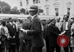 Image of Texas delegation visits President Hoover Washington DC USA, 1929, second 3 stock footage video 65675052213
