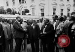 Image of Texas delegation visits President Hoover Washington DC USA, 1929, second 5 stock footage video 65675052213