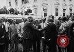 Image of Texas delegation visits President Hoover Washington DC USA, 1929, second 8 stock footage video 65675052213