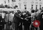 Image of Texas delegation visits President Hoover Washington DC USA, 1929, second 11 stock footage video 65675052213
