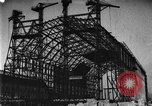 Image of newly constructed airship hangar Friedrichshafen Germany, 1929, second 10 stock footage video 65675052216