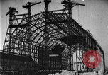 Image of newly constructed airship hangar Friedrichshafen Germany, 1929, second 12 stock footage video 65675052216