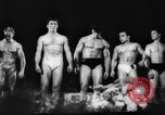 Image of body builders Germany, 1962, second 7 stock footage video 65675052220