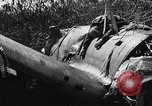 Image of wreckage of Japanese plane Burma, 1944, second 11 stock footage video 65675052238