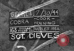 Image of Cobra Division Naples Italy, 1944, second 1 stock footage video 65675052246