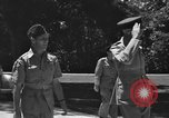 Image of British Marshal Sir Keith Park Kandy Ceylon, 1945, second 11 stock footage video 65675052249