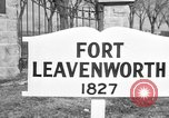 Image of United States officers Fort Leavenworth Kansas USA, 1947, second 3 stock footage video 65675052258