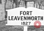 Image of United States officers Fort Leavenworth Kansas USA, 1947, second 4 stock footage video 65675052258