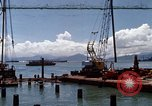 Image of pilings Phan Rang Vietnam, 1969, second 1 stock footage video 65675052279