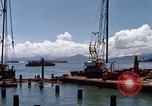 Image of pilings Phan Rang Vietnam, 1969, second 3 stock footage video 65675052279